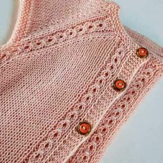 latest-collar-start-hand-knitted-baby-vest-models-m-visible-com-should-start-baby/ - The world's most private search engine Baby Knitting Patterns, Knitting For Kids, Easy Knitting, Cardigan Bebe, Knitted Baby Cardigan, Baby Pullover, Pull Bebe, Baby Sweaters, Kind Mode