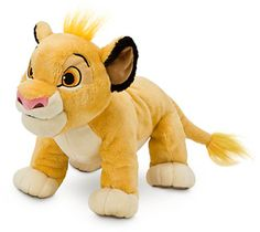 Simba Plush - The Lion King - Medium - 11''