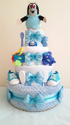 Baby Shower Gifts, Baby Gifts, Diaper Cake Boy, Baby Party, Diy And Crafts, Xmas, Decor, Craft, Shower Gifts