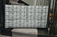 Fabric stair barrier