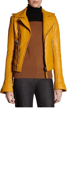mustard - the sweater is gourgeous