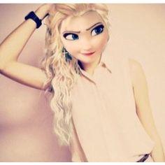 Another modern day Elsa Mix up