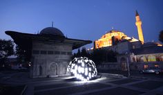 Mesmerizing GIFs Use Light and Motion to Visualize Sounds   Light Dome  Erdal Inci    WIRED.com