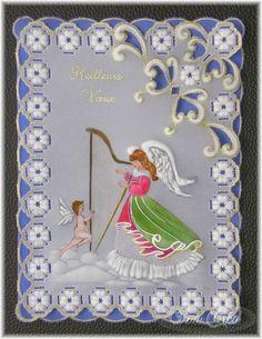 carte en pergamano - Tina Créa