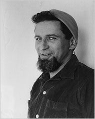 Norman Mailer with beatnik goatee! Love it!