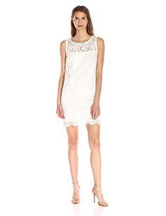 156baef3b84d3 online shopping for Trina Turk Women s Bisitti Petal Lace Sleeveless Shift  Dress from top store. See new offer for Trina Turk Women s Bisitti Petal  Lace ...