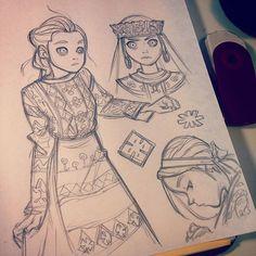 Anna Cattish @anna_cattish #sketching #g...Instagram photo | Websta (Webstagram)