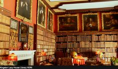 Library, Kingston Lacy House