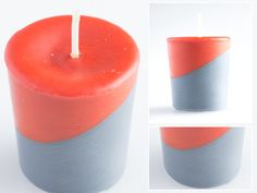 Making candles is a great hobby or business endeavor. For those who have the basics down cold, consider experimenting with the art of making hand dipped candles. Homemade Candles, Soy Wax Candles, Votive Candles, Candels, Wall Mounted Candle Holders, Candle Making Business, Candle Making Supplies, Candlemaking, Candle Containers