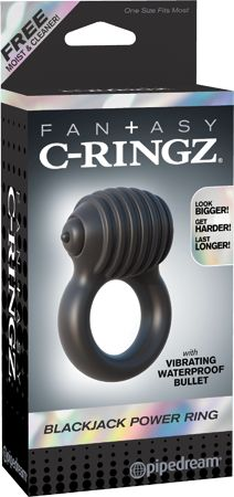 Pipedream Products, Inc. Fantasy C Ringz Blackjack Power Ring Vibrating Silicone Cockring Waterproof Black Grow A Girlfriend, Pipedream Products, Body Action, Ring Home, Black Rings, Fantasy, The Incredibles, Latex Free, Spare Ribs