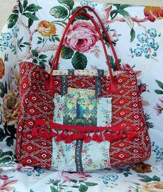 Sac cabas peacok  tote bag sac shopping sac de plage ou par Milyd1