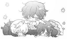 Oz, Gilbert and Alice <3