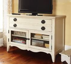 pottery barn tv stand - Google Search