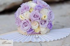 Bridal Bouquet and Rings