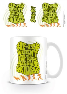 Scooby Doo - Meddling Kids - Ceramic Coffee Mug. Dishwasher and microwave safe. Capacity: ca 11oz. Official Merchandise. FREE SHIPPING