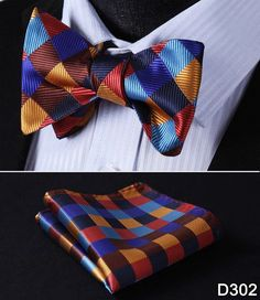 We are professional on tie, bow tie, pocket square, ascot. We focus on suit accessories for many years. Hisdern provide not only products, but also the responsibility. We also have many style extra long tie for sale. Pocket Square Size, Pocket Squares, Bow Tie Party, Traje Casual, Man Weave, Silk Bow Ties, Tie Set, Blue Check, Jacquard Weave
