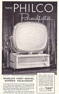 Philco Predicta Ad 1958