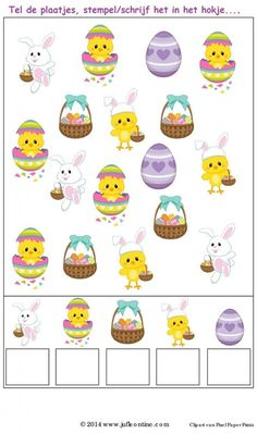 Crafts,Actvities and Worksheets for Preschool,Toddler and Kindergarten.Lots of worksheets and coloring pages. Easter Worksheets, Preschool Worksheets, Preschool Activities, Easter Activities For Kids, Educational Games For Kids, Crafts For Kids, Easter Crafts, Stencil, Free Printable