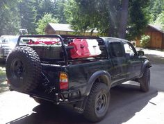Tacoma Bed Rack for Tepui Tent Tacoma Bed Rack, Tepui Tent, Tire Rack, Racking System, Toyota Tacoma, Truck Accessories, Nissan, 4x4, Transportation