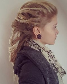 "456 Likes, 6 Comments - Katorcze (@katorcze) on Instagram: ""#dreads #girlswithdreads #beautifuldreads #longdreads #blondedreads #ombredreads #dreads…"""