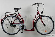 """Koliken Hunyadi 26"""" női city kerékpár - Városi kerékpárok - 26""""-os city kerékpárok - FullBike kerékpár webshop - kerékpár webáruház   Neuzer, Schwinn-Csepel, Gepida, Giant, GT, Koliken, Kellys felnőtt, gyerek és elektromos kerékpárok, kerékpár felszerelés, alkatrész."""