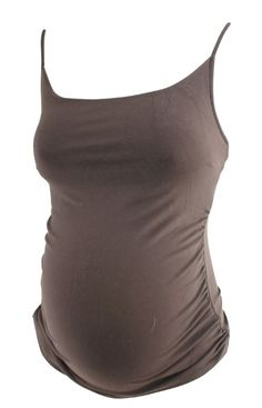 Brown Isabella Oliver Maternity Spaghetti Strap Maternity Tank (Like New - Size 1) - Motherhood Closet - Maternity Consignment