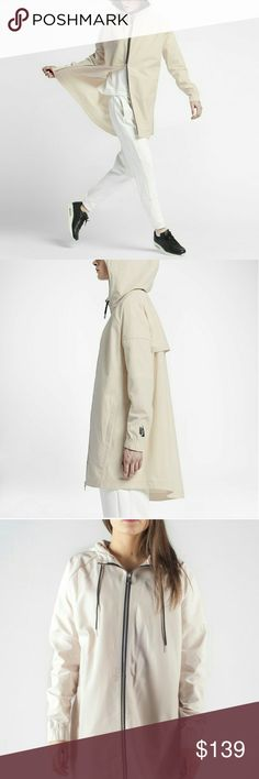 NWT NikeLAB ESSENTIALS SW PARKA The NikeLAB ESSENTIALS SW PARKA is now available for purchase in a Blanco color Pearl White/Black colorway  NikeLAB ESSENTIALS SW PARKA Pearl White Nike Jackets & Coats