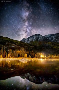 ~~McKee Pond and the Milky Way, Marble Colorado by Lars Leber~~