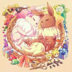 Eevee love Pokemon