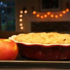 Английский десерт яблочный карамбл