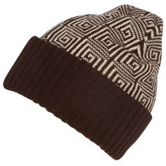 This lightweight knit ribbed beanie comes in different colors, all with a kaleidoscope pattern. Warm and soft, simple and practical. Perfect for everyday wear, great for work and commuting. Ikat Pattern, Work Fashion, Classic Looks, Beanie Hats, Snug Fit, Knitting Patterns, Casual Outfits, Winter Hats, Fashion Accessories