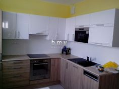 Kuchyňa novobyt - BMV Kuchyne Kitchen Cabinets, Home Decor, Decoration Home, Room Decor, Cabinets, Home Interior Design, Dressers, Home Decoration, Kitchen Cupboards