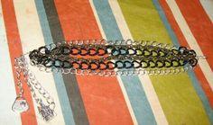 DIY pulsera con cadenas y charms