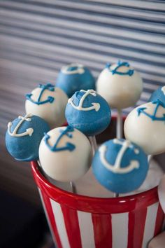 Sailor/nautical Birthday Party Ideas | Photo 1 of 9 | Catch My Party