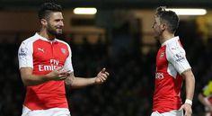 Mesut Ozil Likes Instagram post criticising Arsenal team mate Olivier Giroud