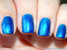 datyorkLOVES: Day 5- Blue Nails (I'm Feeling Blue)