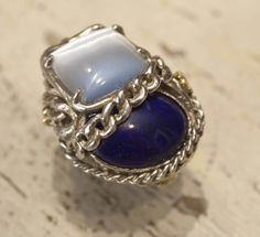 Midnight and light blue #jewlery #rings #gioielli #giuseppinafermi #accesories #madeinitaly