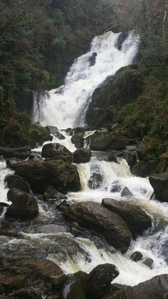 Torc Waterfall (near the road, small parking area) - Killarney, Ireland