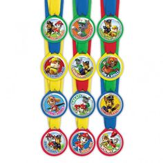 Paw Patrol Award Medals | 12 ct