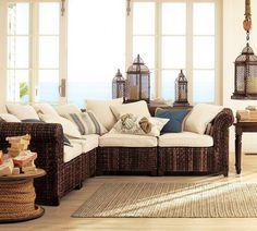 Comfortable Sofa Made Of Natural Materials