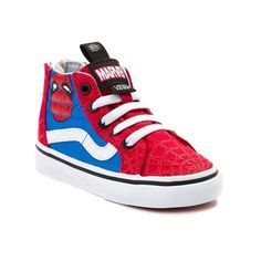 e91103ab2981a6 Tingle your spider sense with the all new Sk8 Hi Marvel Avengers Spider-Man  Skate