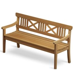 As the symbol of Danish garden furniture, the Drachmann line is the quintessence of classic Scandinavian design. This timeless furniture classic, with the Garden Furniture Design, Teak Furniture, Outdoor Furniture, Outdoor Decor, Urban Furniture, Street Furniture, Outdoor Spaces, Outdoor Living, Scandinavian Garden