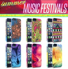 Cellairis iPhone cases inspired by summer music festivals
