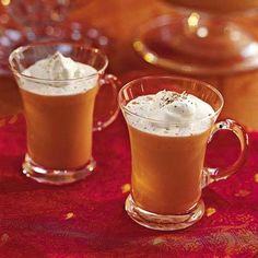 Eggnog-Coffee Punch by Southern Living.