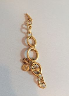 #Gliederarmband #gold #Diane von Furstenberg
