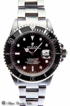 Mens Rolex Submariner Stainless Steel