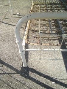 Vintage Iron Cast Bed Frame Antique Victorian Cast Iron Full Size