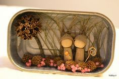 presepio feito com material reciclado - Google Search