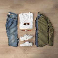 10K 個讚,75 則留言 - Instagram 上的 Phil Cohen(@thepacman82):「 Spring fever.  Sneakers: @filippak_man Morgan Low White Jacket: @bonobos Shirt Jacket Sunglasses:… 」