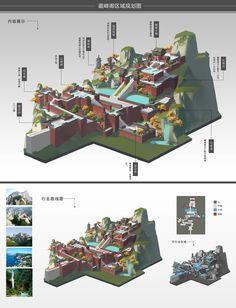 ArtStation - Regional map planning, XIWEN CHAN